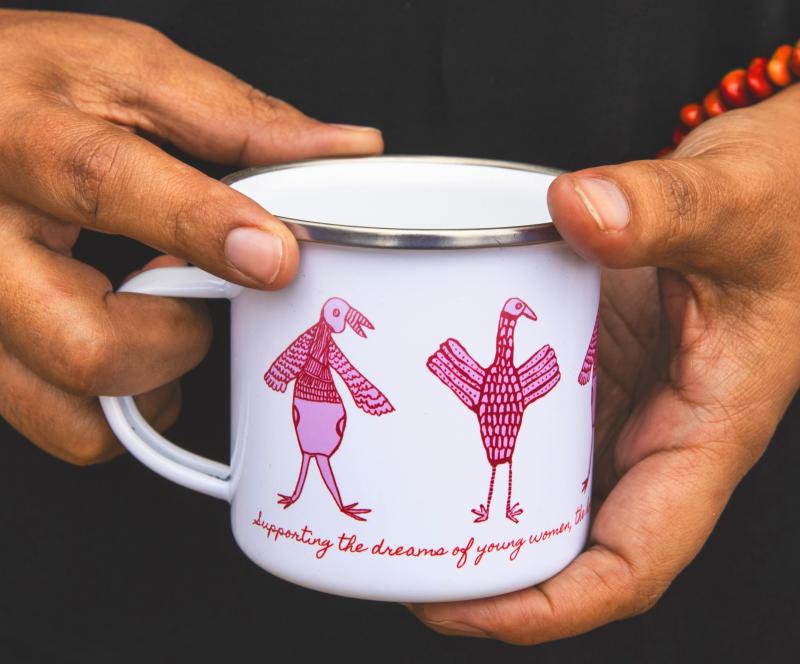 aboriginal indigenous gift ethical mug