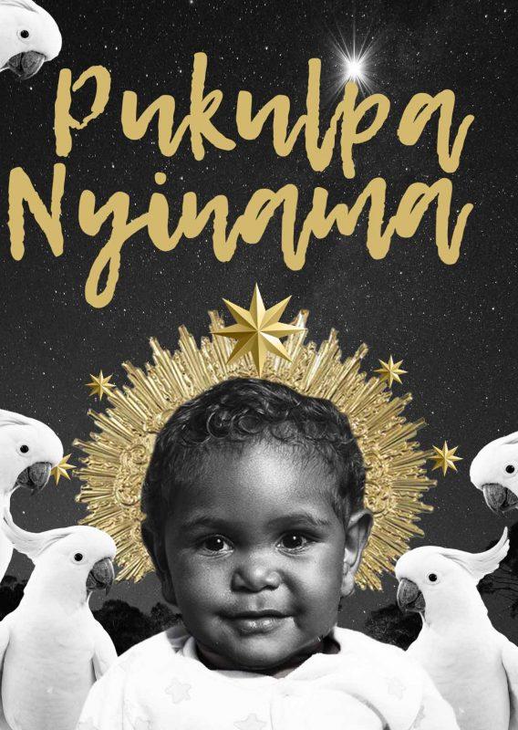 Charity Christmas Card Central Australia