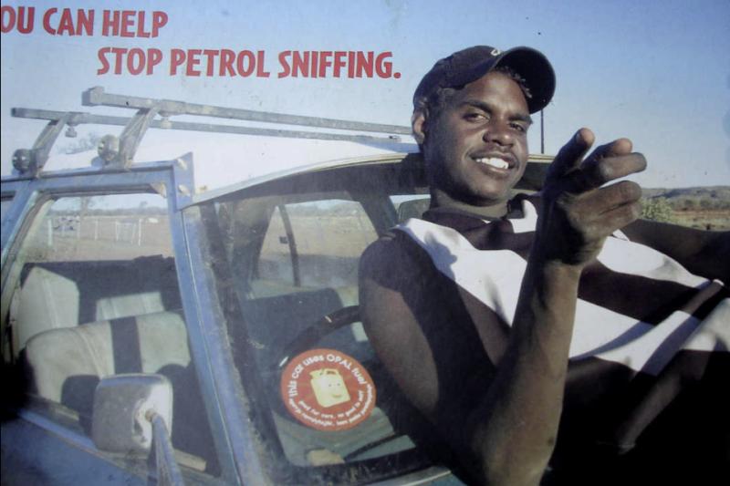 petrol sniffing aboriginal indigenous