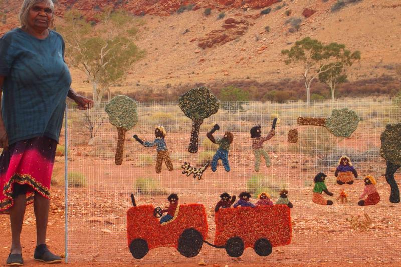 tjanpi weavers aboriginal art